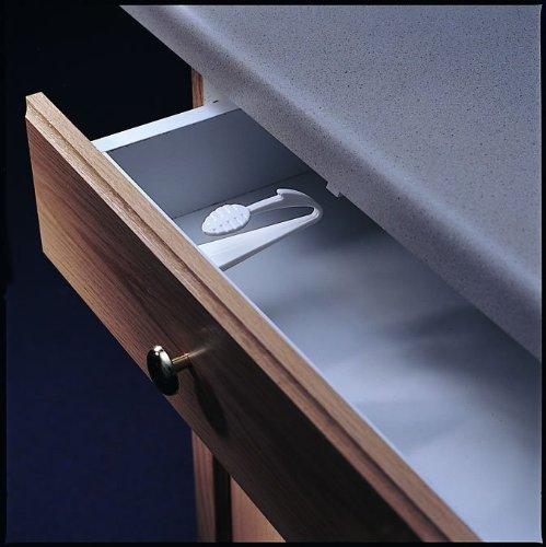 Kidco Adhesive Mount Cabinet And Drawer Lock 12 Ct