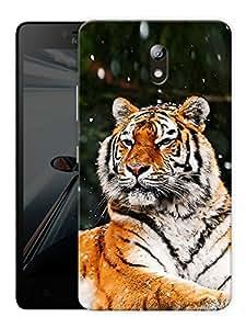 "Tiger Sitting Printed Designer Mobile Back Cover For ""Lenovo Vibe P1m"" By Humor Gang (3D, Matte Finish, Premium Quality, Protective Snap On Slim Hard Phone Case, Multi Color)"