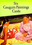 img - for Six Gauguin Paintings Cards (Dover Postcards) by Gauguin, Paul (1996) Paperback book / textbook / text book
