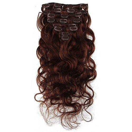 E-forest-hair-7A-Grade-Virgin-100-Brazilian-Human-remy-Hair-8Pc-80g-Body-Wave-Clip-in-hair-Extensions-10-inch-Color-4-For-Women-Full-Head-E23-F01