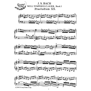 Recording Bach: The Well Tempered Clavier vol. 1 ...