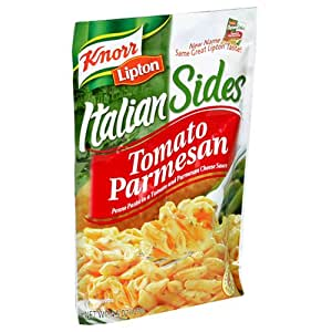 Knorr/Lipton Pasta & Sauce, Tomato Parmesan, 4.5Ounce Packages (Pack of 12)
