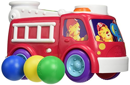 Bright Starts Roll & Pop Fire Truck
