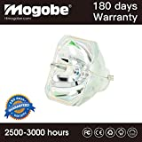 Mogobe ELPLP67 Compatible Bare Bulb For EPSON EX3210 EX3212 EX5210 EX6210 EX7210 MG-50 MG-850HD Fit EPSON PowerLite 1221 1261W S11 W16 W16SK X12 X15 VS210 VS310 VS315W VS320 Fit EPSON PowerLite Home Cinema 500 707 710HD 750HD EPSON EB-S02 S11 S12 SXW11 SX