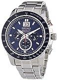 Seiko SPC135P1 Sportura Mens-Chronograph Watch, Blue Dial thumbnail