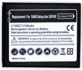 Brand New Samsung Galaxy Ace 2 I8160 1700 mAh Replacement Battery - Part Of Fab Mobile Phone Accessories Range