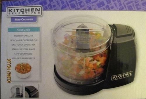 Kitchen Selectives Mini Chopper Review