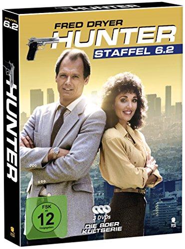 Hunter - Gnadenlose Jagd (Staffel 6.2 auf 3 DVDs im Digipack mit Schuber plus Episodenguide)