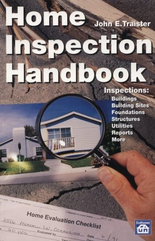Home Inspection Handbook - Craftsman Book Co - CR603 - ISBN: 1572180463 - ISBN-13: 9781572180468