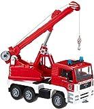 Bruder 02770 - MAN Feuerwehr-Kran mit Light+Sound-Modul