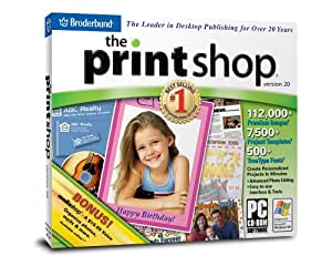 item 6 NEW SEALED Broderbund The Print Shop Deluxe Version 22 Software PC CD ROM Encore - NEW SEALED Broderbund The Print Shop Deluxe Version 22 Software PC CD ROM Encore $ item 7 The PRINT SHOP Deluxe by Broderbund (Version 12) CD's are almost perfect!