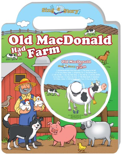 Old Macdonald Had A Farm Sing A Story Handled Board Book With Cd front-443662