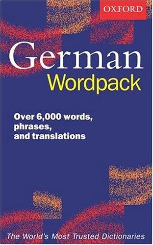 Oxford German Wordpack
