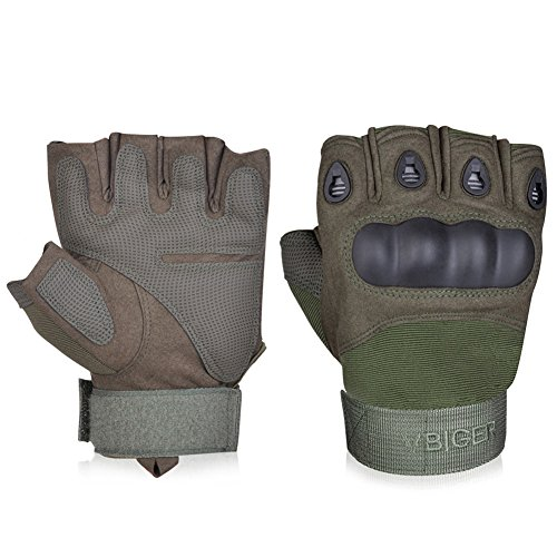 Vbiger Military Half-finger Fingerless Tactical Airsoft