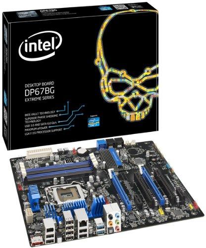 Intel Burrage LGA1155 Motherboard (P67 ATX, 1 PCIE x16, 4 SATA, USB 3.0, DDR3)