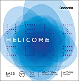 D\'Addario Helicore Solo Bass String Set, 3/4 Scale, Medium Tension