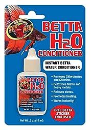 Zoo Med Betta H2O Conditioner,0.5 oz
