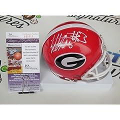 Todd Gurley signed Georgia Bulldogs UGA mini helmet JSA COA