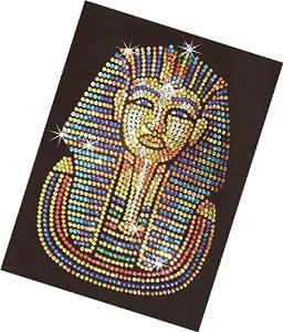 Sequins Art Tutankhamen