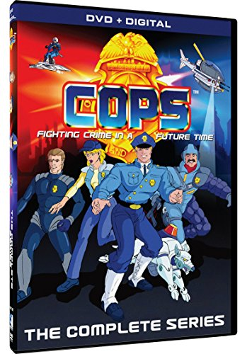 DVD : C.O.P.S.: The Complete Series (Digital Download Card, 5 Disc)