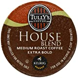 Tullys House Blend K-Cup packs for Keurig Brewers (Pack of 50)