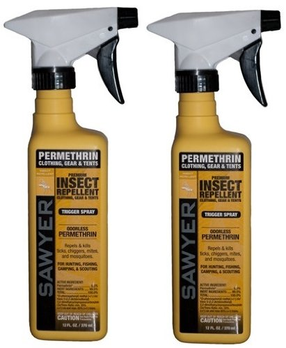 $ averPak 2 Pack - Includes 2 Sawyer SP649 Clothing Insect Repellent 12 oz Trigger Spray Permethrin