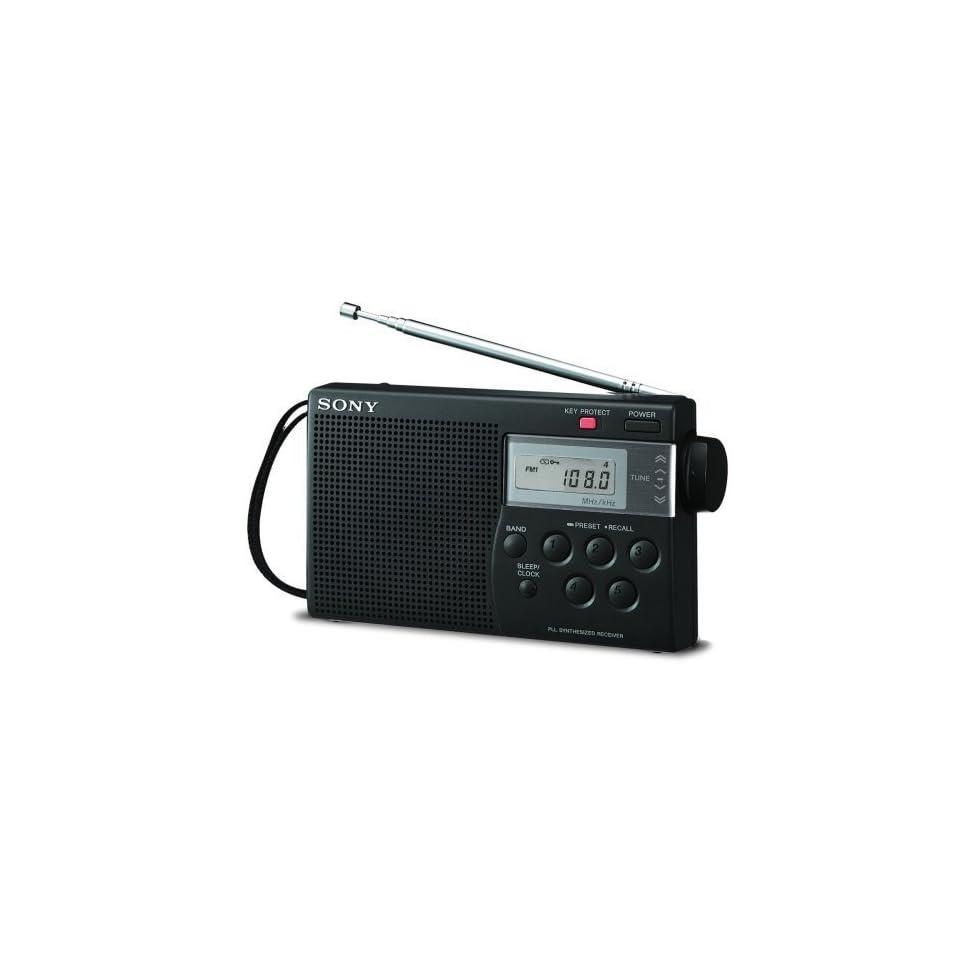 Sony ICF M260 AM/FM PLL Synthesized Clock Radio with Digital Tuning & Alarm