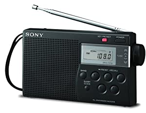 Sony ICF-M260 AM/FM PLL Synthesized Clock Radio