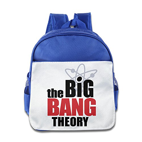 Boomy The Big Bang Theory Season 9 School Bag For 3-6 Years Old Toddler Kids RoyalBlue Size One Size (This Old House Episodes compare prices)