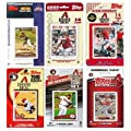 MLB Arizona Diamondbacks 6 Different Licensed Trading Card Team Sets