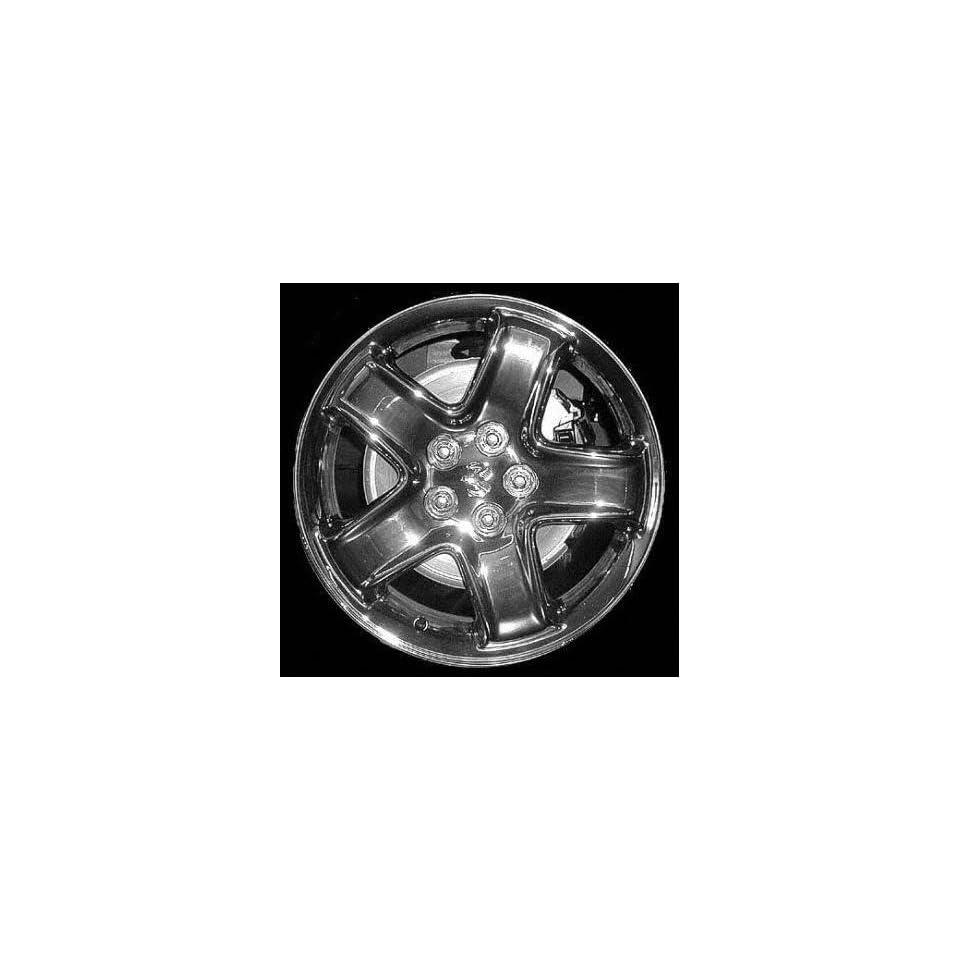 01 03 DODGE STRATUS SEDAN ALLOY WHEEL RIM 16 INCH, Diameter 16, Width 6.5 (5 SPOKE), SILVER, 1 Piece Only, Remanufactured (2001 01 2002 02 2003 03) ALY02145U10
