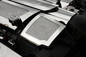 American Car Craft Chevrolet Corvette 2008 2009 2010 2011 2012 2013 Grand Sport Chrome Air Capacitor Cover Engine Dress
