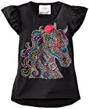 Beautees Little Girls Hi Lo Top with Horse