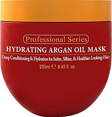 Arvazallia Hydrating Argan Oil Hair Mask and Deep Conditioner, 8.45 oz