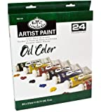 Royal & Langnickel Oil Color Artist Tube Paint, 21ml, 24-Pack
