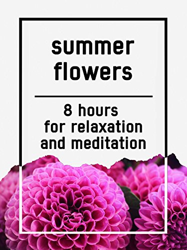 Summer flowers, 8 hours for Relaxation and Meditation