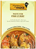 Kitchens Of India Curry Paste For Fish Curry, 3.5-Ounce Boxes (Pack of 6)