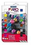 Toy - Staedtler 8023 01 - Fimo soft Materialpackung, 12 Halbbl�cke 25 g, farblich sortiert