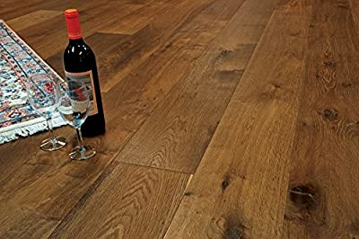 "Wide Plank 7 1/2"" x 5/8"" European French Oak (Montana) Prefinished Engineered Wood Flooring Samples at Discount Prices by Hurst Hardwoods"