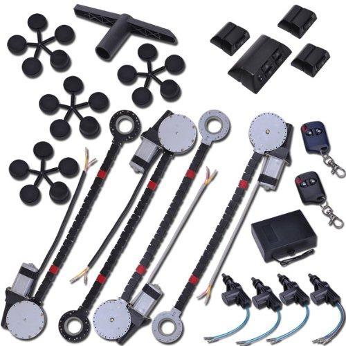 Professional Do It Yourself Electric Window Conversion Kit 2 Windows W/ Lock Kit