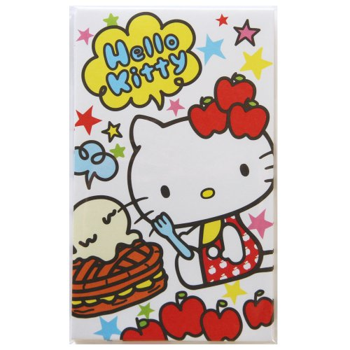 Pochi bag / envelope (Hello Kitty / Apple)
