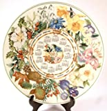 Wedgwood Queensware calendar plate for the Daily Mail from 2003 CP1101