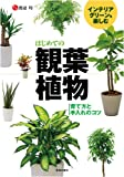 インテリアグリーンを楽しむはじめての観葉植物― 育て方と手入れのコツ