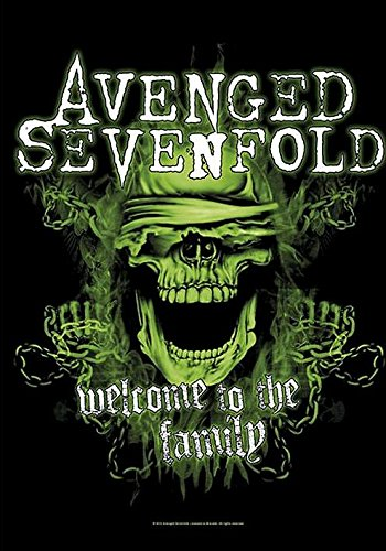 Avenged Sevenfold-Bandiera Poster, Welcome To The Family