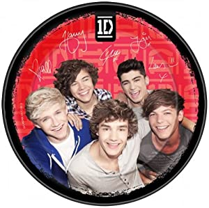 One Direction 1D 8 PK Party Accessories Brands Plates Paper by .