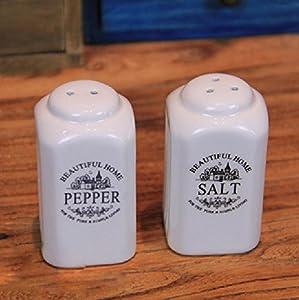 Kerchair Salt And Pepper Shaker Set Kitchen