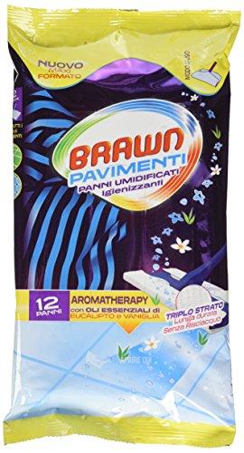 Brawn Salviette Pavimenti X 12