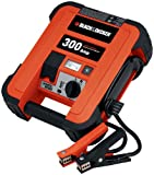 Black & Decker JUS300B 600 Peak Amp Low Profile Jump Starter