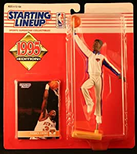 PATRICK EWING / NEW YORK KNICKS 1995 NBA Starting Lineup Action Figure & Exclusive NBA Collector Trading Card