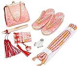 (キョウエツ) KYOETSU 日本製 七五三 7歳 女の子ハコセコ6点セット (ピンク系)